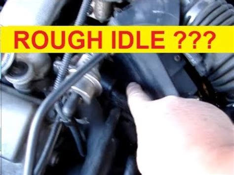 rough idle   fix ford taurus engine stalls  stop