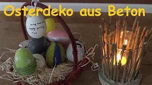 Welchen Beton Zum Basteln : diy ostereier aus beton gie en osterdeko selber basteln ei aus beton machen youtube ~ Buech-reservation.com Haus und Dekorationen