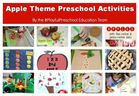 on preschool apple theme activities for teachers and 494 | Apple2BTheme2BPreschool2BActivities