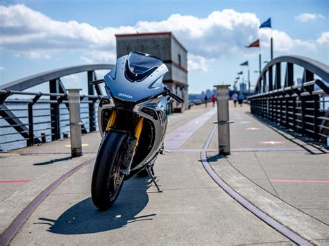 Test Ride A Damon Motorcycles Electric Hypersport In 2021 ...