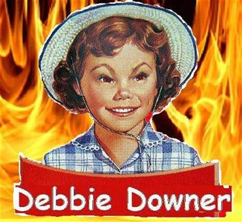 Debbie Downer Meme - 5 keys to powerful presentations blog