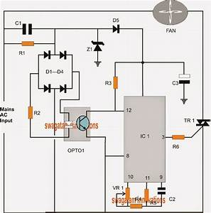 Pwm Controlled Fan Dimmer Switch Circuit