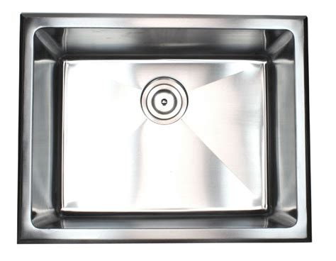 Stainless Steel Utility Sink Drop In by 23 Inch Undermount Drop In Stainless Steel Single Bowl