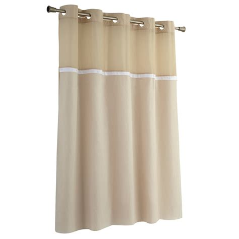 hookless shower curtain lowes shop hookless peva frosty white solid shower liner at