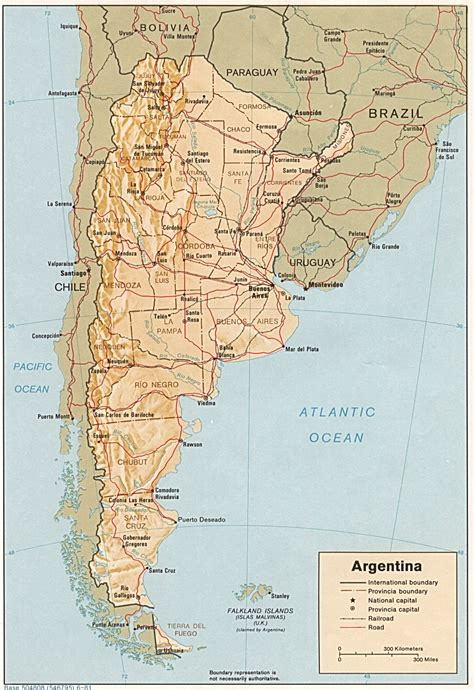 argentina maps perry castaneda map collection ut