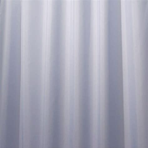 interdesign poly shower curtain liner in cornflower blue