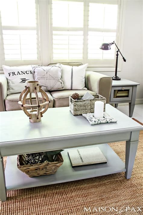A coffee table is very important because it usually has a prominent place in your living room. Coffee Table Decor