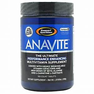 Anavite Gaspari Nutrition Sports Performance Multivitamin 180 Ct