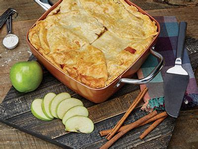 apple pie recipes   copper chef square pan copper cooking pan red copper skillet