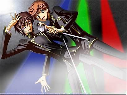Lelouch Code Geass Lamperouge Suzaku Kururugi Rebellion