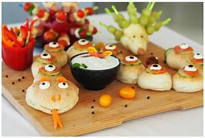 Für Kiga & Schule: Partyschlange & Fingerfood für´s