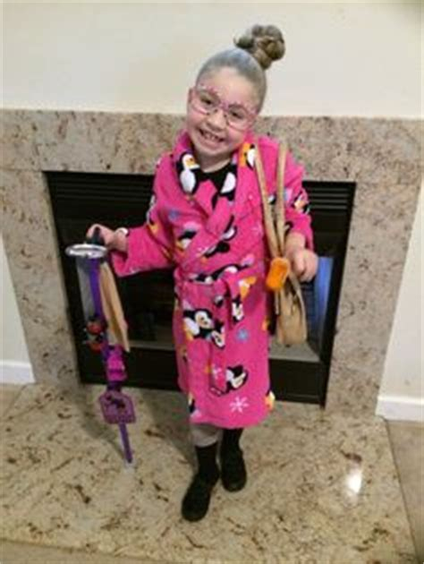 100th day of school dressed like a 100 year old lady!!! 100th day of school outfit ... Baby ...