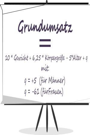 grundumsatz rechner berechnen sie ihren individuellen