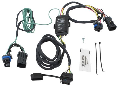 Plug Tow Vehicle Wiring Harness With Pole Trailer