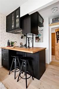 meuble bar separation cuisine americaine cuisine idees With meuble bar separation cuisine
