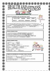 Free Printable Health Worksheets