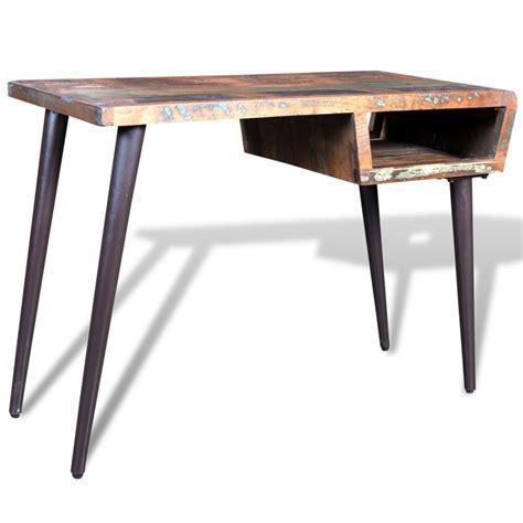pied de bureau bois la boutique en ligne bureau en bois recyclé avec pieds en
