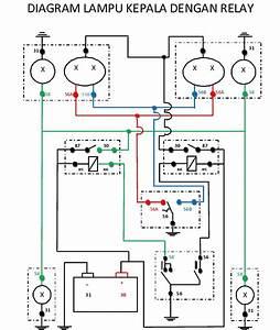 Wiring Diagram Lampu Kepala Xenia