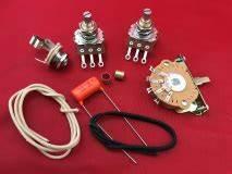 Telecaster Upgrade Guitar Wiring Kit With Orange Drop Tone