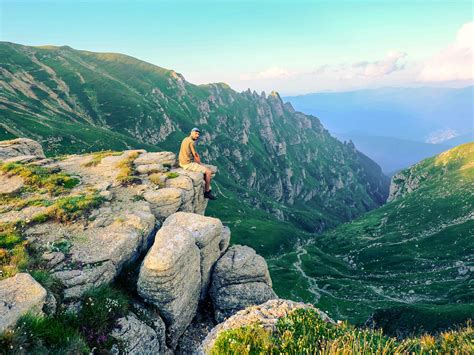 summer adventure vacation hiking in the bucegi mountains