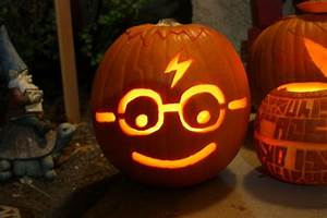 harry potter pumpkin carving templates - pumpkin faces spooky scary cute and funny ideas for