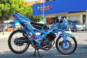Modifikasi Motor Satria Fu 150cc Racing Look 2014
