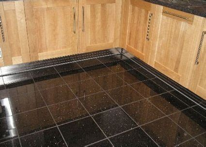 black floor tiles for kitchen beautiful black sparkle kitchen floor tiles kezcreative 7872