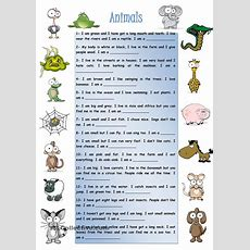 Animals  √ English  Animales En Ingles, Aprender Inglés, Descripcion De Animales