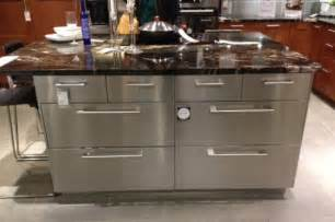 Steel Sofa Designs by Stainless Steel Kitchen Islands Benefits That You Must