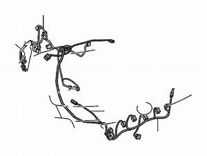 Toyota Yaris Door Wiring Harness  Right  Front