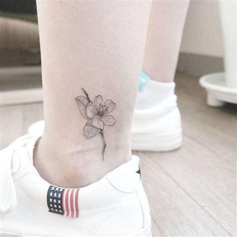 tatouage cheville femme coup de coeur pour les dessins