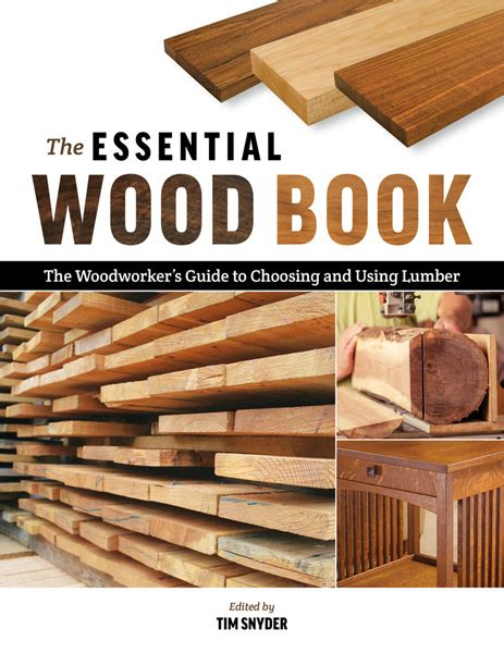 essential wood book tim snyder wood identification