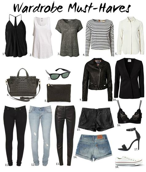 Must Haves In Your Closet by 17 Best Ideas About Classic Wardrobe On