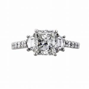 152ct radiant cut diamond engagement ring boca raton With radiant cut diamond wedding rings