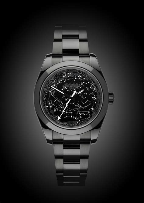 Rolex Milgauss: Celestial | Titan Black
