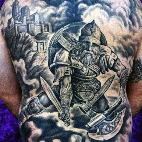 viking tattoos  men germanic norse seafarer designs