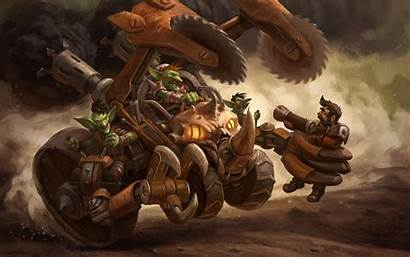 Goblin Hearthstone Wallpapers Wow Background Hunter Warcraft