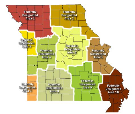 geographic rating areas missouri department  insurance