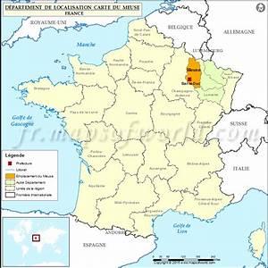 Carte Du Monde En Liège : carte de localisation de la meuse d partement meuse france ~ Teatrodelosmanantiales.com Idées de Décoration