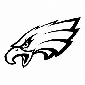 Eagles Football Logo Black And White | www.imgkid.com ...