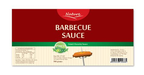 Bbq Sauce Label Template Bbq Label Template Related Keywords Bbq Label Template
