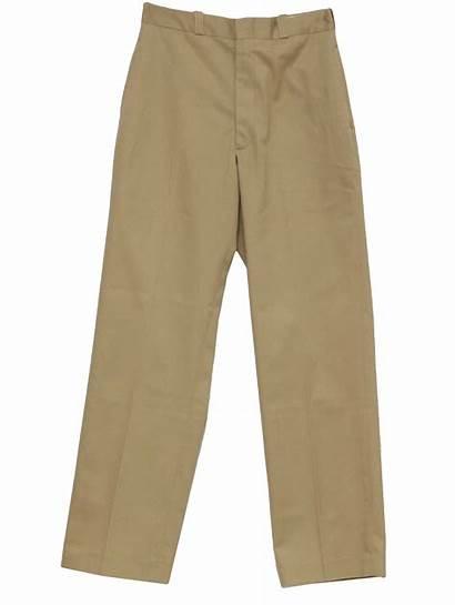 Pants Khaki Clipart Mens Uniform Navy Cliparts