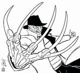Coloring Pages Freddy Krueger Horror Jason Voorhees Drawing Printable Halloween Printables Nightmare Colouring Scary Inspired Works Amazing Adult Getcolorings Spoofs sketch template