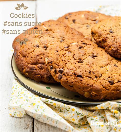 recettes maxi cuisine maxi cookies sans sucre blanc et sans gluten