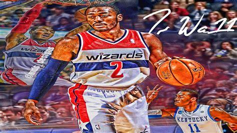 John Wall HD Wallpaper Speed Art Photoshop Cs6 - YouTube