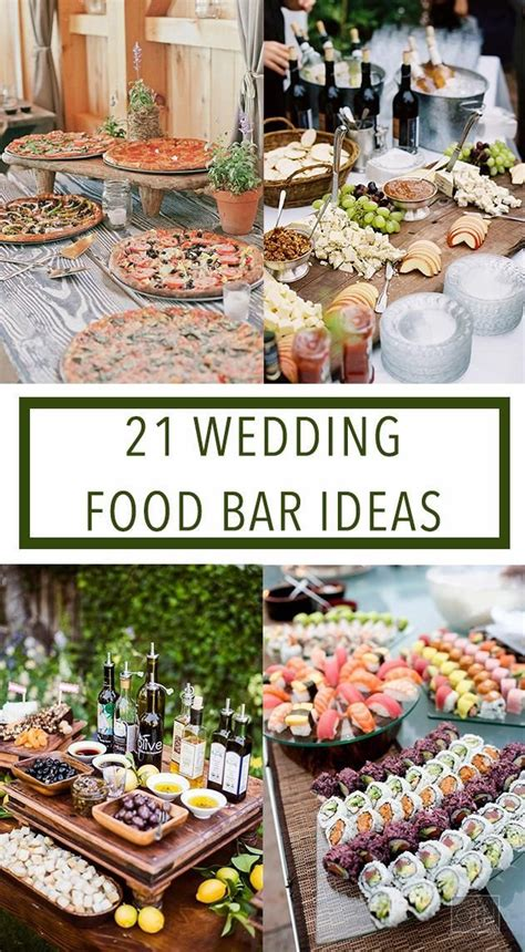 buffet bar cuisine 15 absolutely stunning buffet wedding menu ideas food