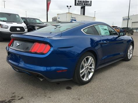 New 2017 Ford Mustang Ecoboost Premium In Calgary