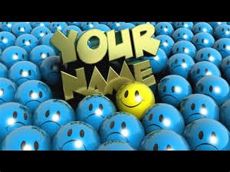 How To Make Your Name Wallpaper Youtube