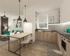 Moderne Küchen L Form : 41 moderne k chen in eiche helles holz liegt im trend ~ Sanjose-hotels-ca.com Haus und Dekorationen