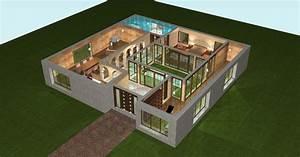 Plan Maison 3d 70m2